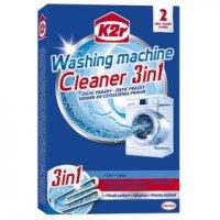 K2r Čistič pračky 3v1, odstraňuje špínu a zápach z pračky, 250g