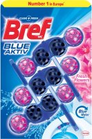 Bref Blue Aktiv WC Blok Fresh Flowers 3x50g