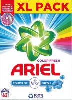 Ariel prací prášek Touch of Lenor Color (63 pracích dávek) 4,725kg