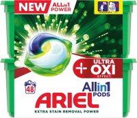 Ariel gelové kapsle Ultra OXI Effect 48ks