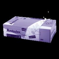 Ambulex vinylové jednorázové rukavice S 100ks