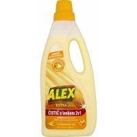Alex Extra péče 2v1 s leskem, čistič dřevěných laminátových plovoucích podlah, s pomerančovou vůní, 750ml