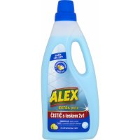 Alex Extra péče 2v1 s leskem, čistič dlažby, lino a vinyl, s citronovou vůní 750ml