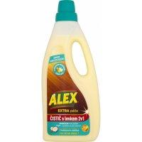 Alex Extra péče 2v1 s leskem, čistič dřevěných podlah s kokosovým mýdlem 750ml