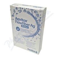 Aqvitox Flowfiber Ag 5x5cm antimikrobiální 10ks