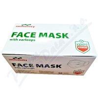 Immunity zdravotnická maska s gumičkami 50ks
