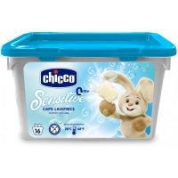 Chicco Prostředek prací gelové kapsle Sensitive 16ks