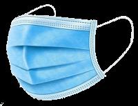 3-vrstvá jednorázová chirurgická rouška 50 ks