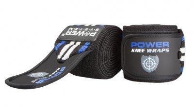 Power System bandáže na kolena KNEE WRAPS BLUE 2ks