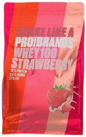 PRO!BRANDS 100% Whey Protein Jahoda 900g