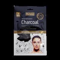 Beauty Formulas Detoxikační bublinková maska s aktivním uhlím 1ks