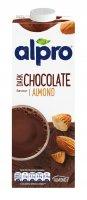 Alpro mandlový nápoj s příchutí hořké čokolády 1l